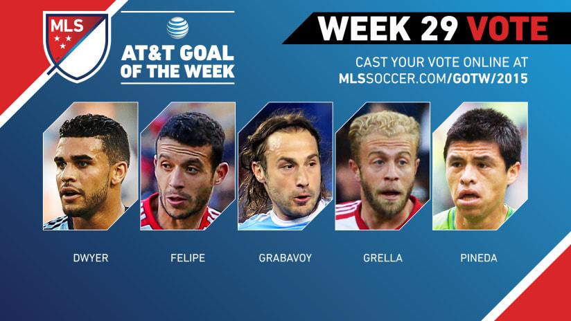 MLS Goal of the Week (Week 29)