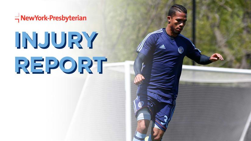NYCFC at Atlanta United Injury Report