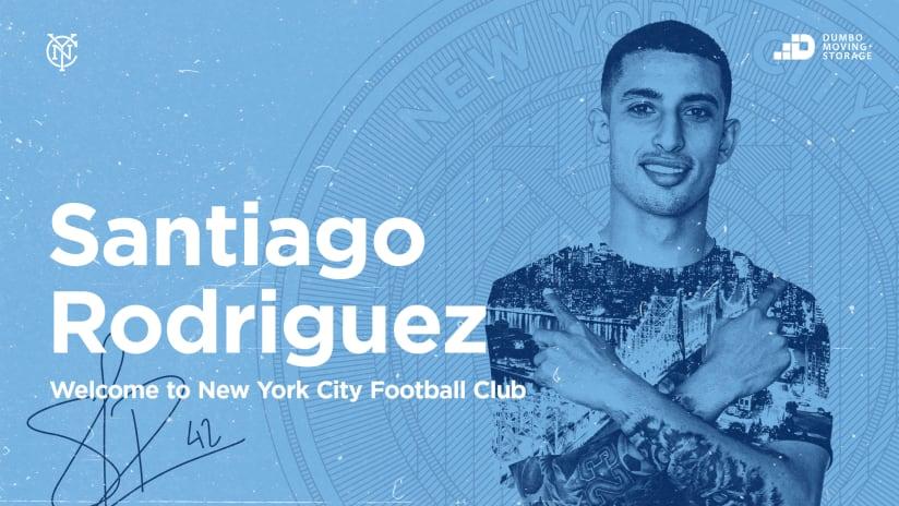 Santiago Rodriguez signing