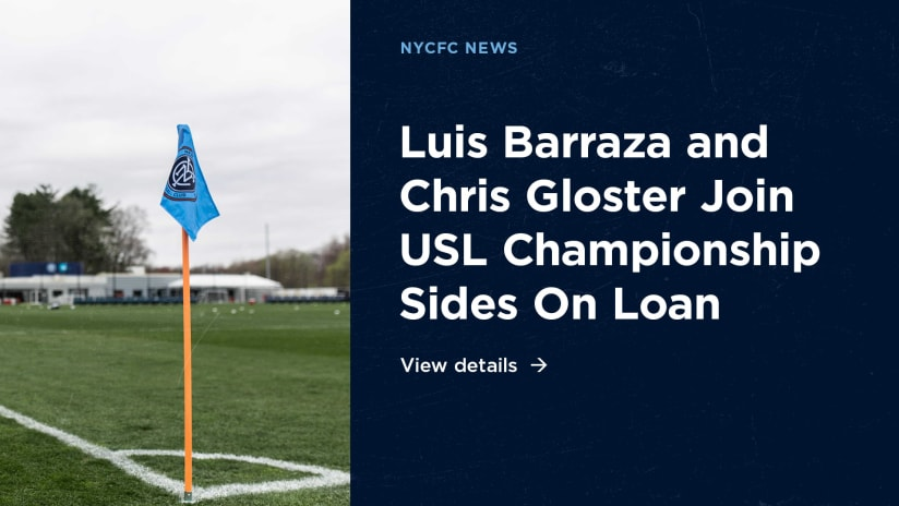 Luis Barraza & Chris Gloster on Loan
