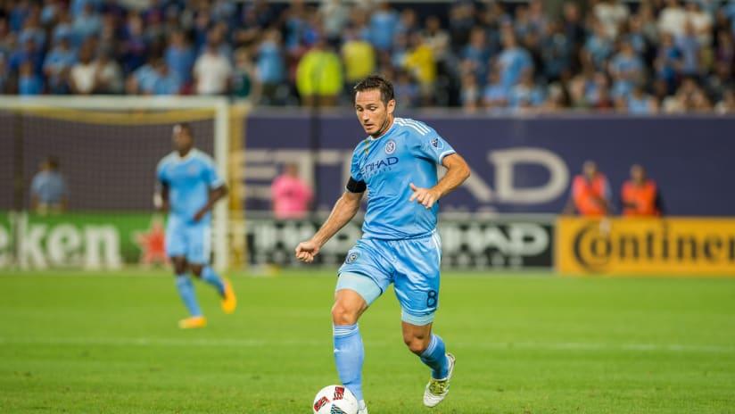 Frank Lampard NYCFC vs FC Dallas 9/17/16 Image