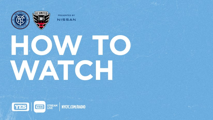 NYC vs DCU How to Watch