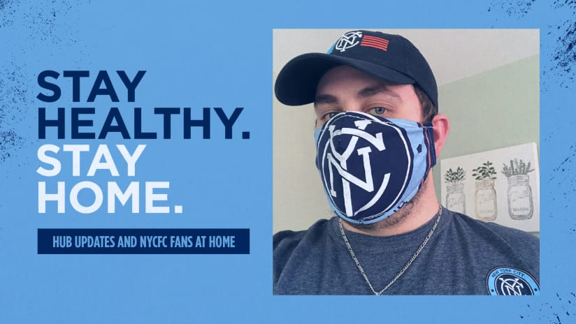 Staying Home with NYCFC May 12