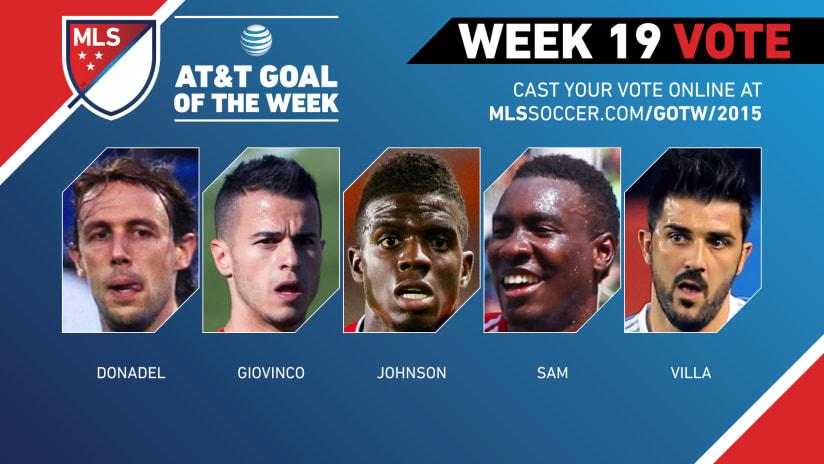 MLS Goal of the Week (Week 19)