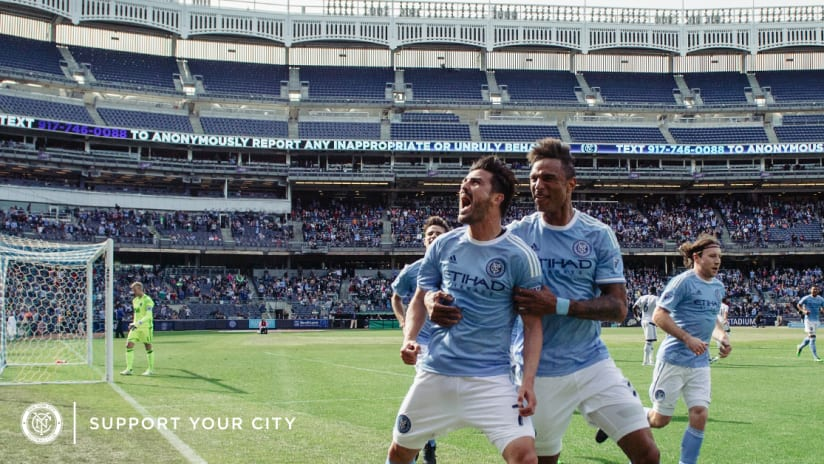 What is new at nycfc