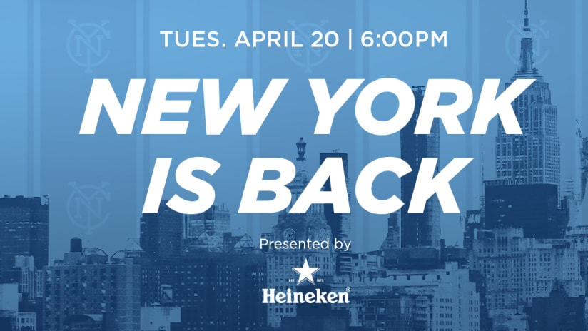 NY is Back Pep Rally