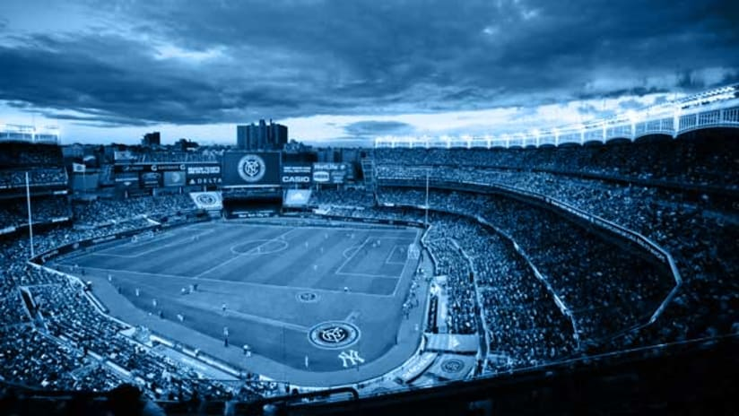 Yankee Stadium Blue