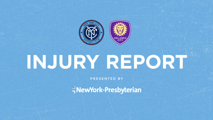 Injury Report   Four Missing Against Orlando City SC