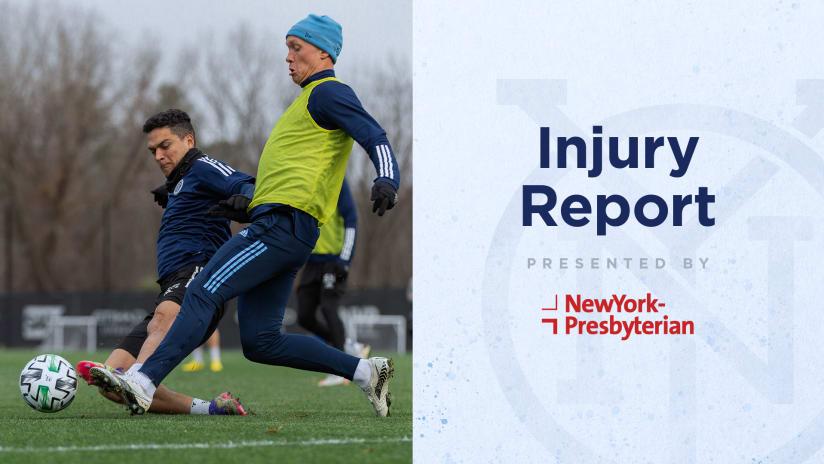ORLvNYC Injury Report
