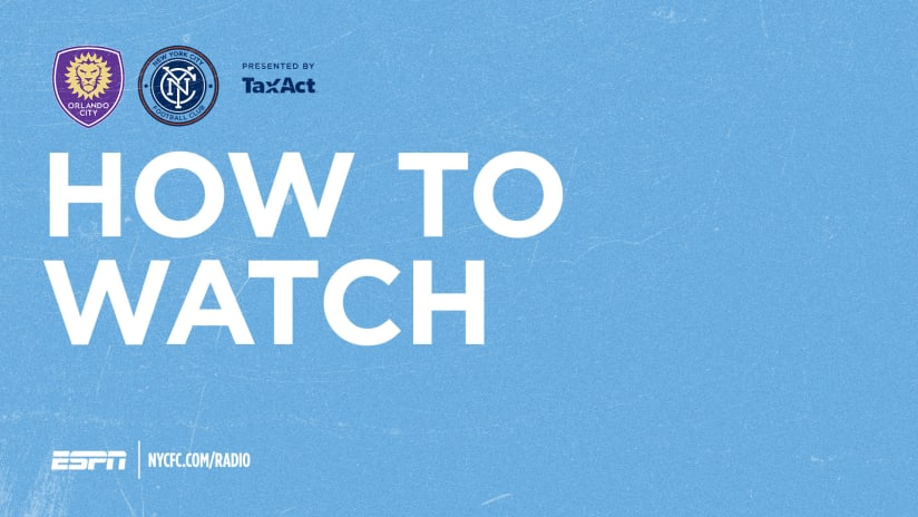 ORLvNYC How To Watch