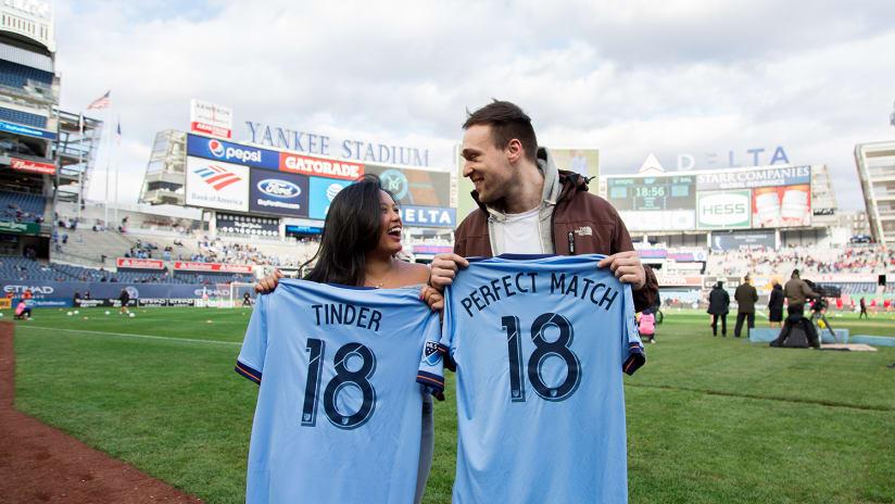 NYCFC Tinder Match