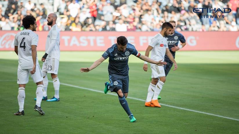 NYCFC vs LAFC Match Recap