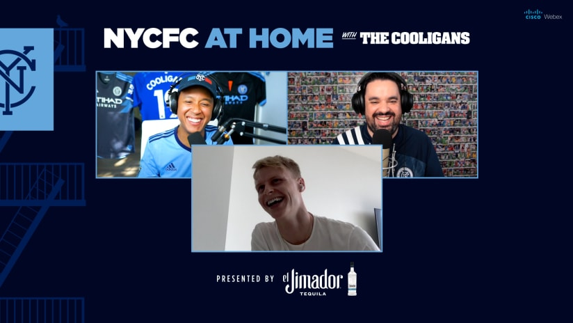 NYCFC at Home with The Cooligans presented by El Jimador | Guest Gary Mackay-Steven