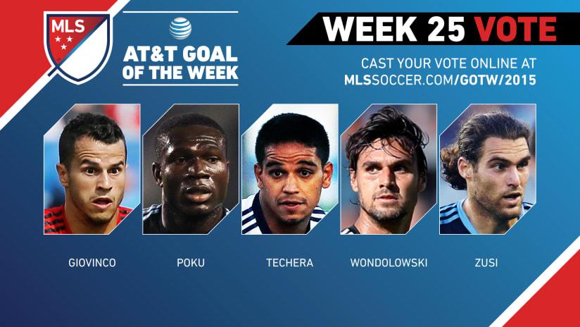 MLS Goal of the Week (Week 25)