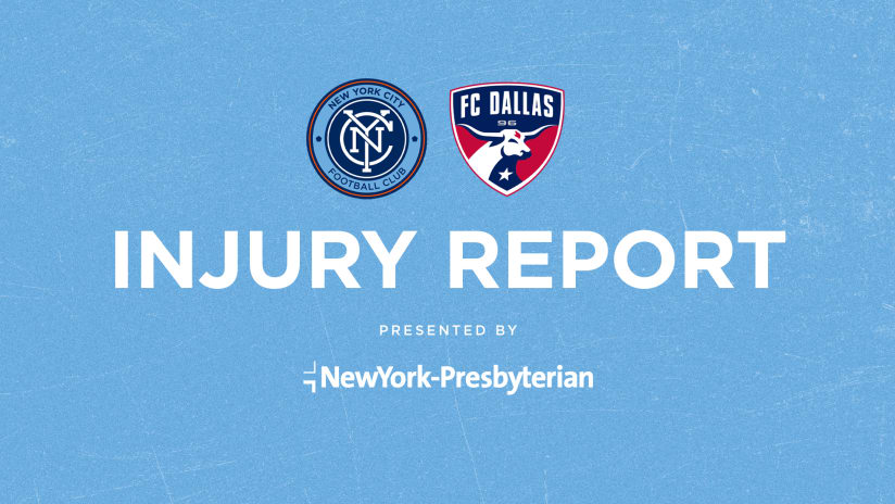 Injury Report | Three Out, One Questionable For Dallas