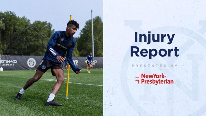 NEvNYC Injury Report