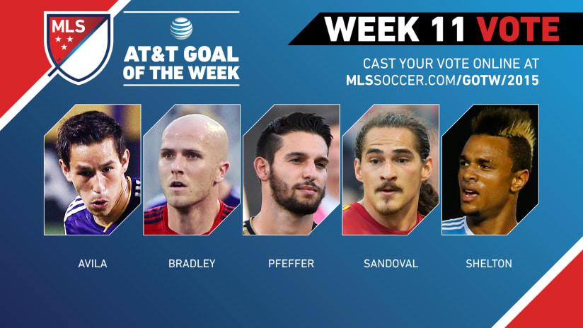 MLS Goal of the Week (Week 11)