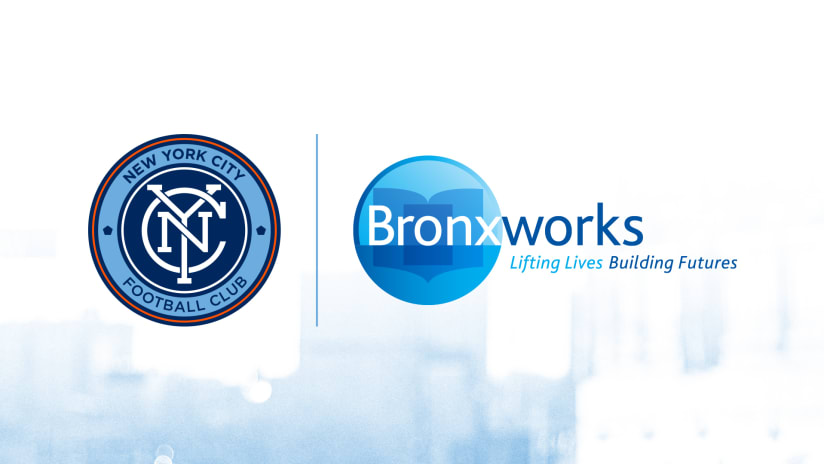 NYCFC and BronxWorks Announce Multi-Year Partnership to create educational opportunities for Bronx minority youth