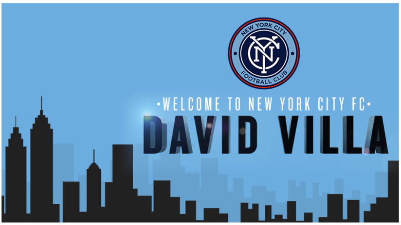 Welcome to NYCFC David Villa
