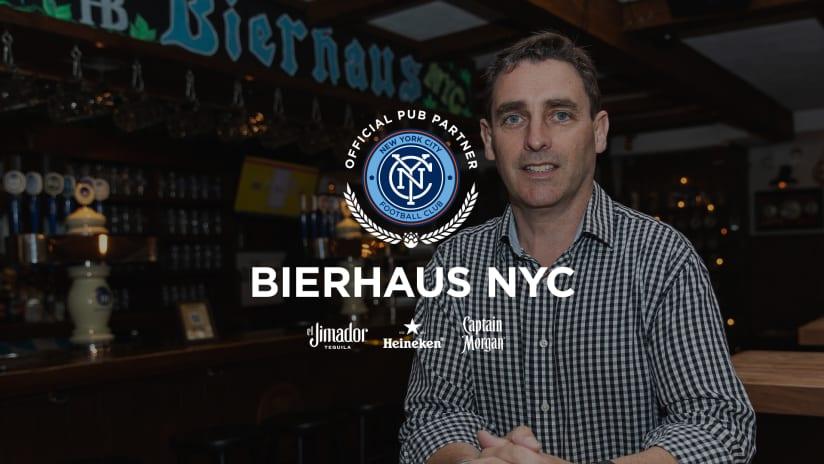 Pub Partner Spotlight | Paul O'Connor of Bierhaus NYC