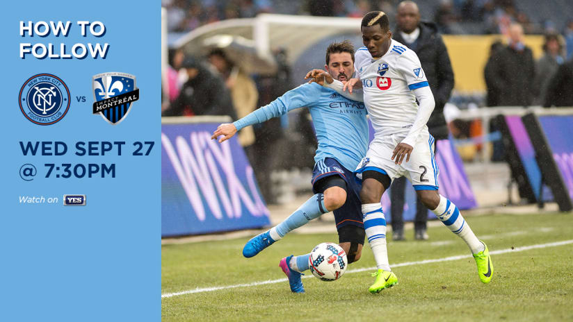 NYCFC vs Montreal How to Follow