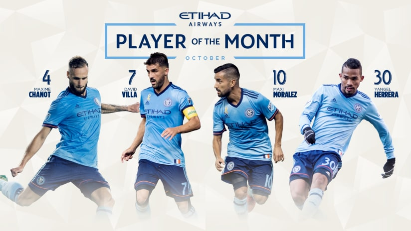 Player of the Month October