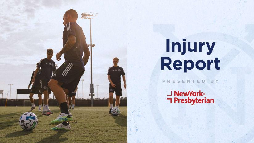 injury report orlando mls is back