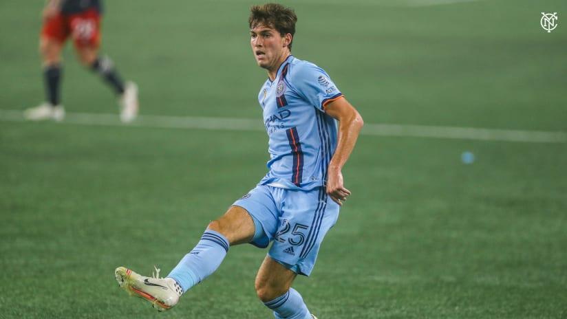 Joe Scally MLS debut