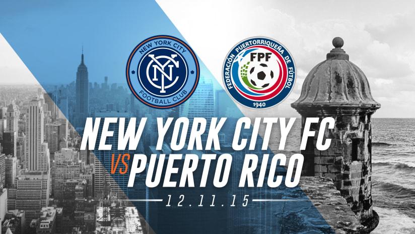 New York City FC vs Puerto Rico Promo - update