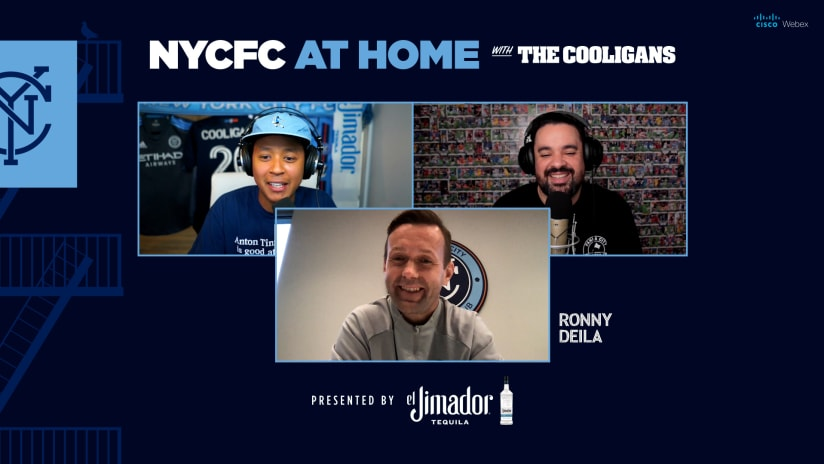 At Home with the Cooligans and Ronny Deila