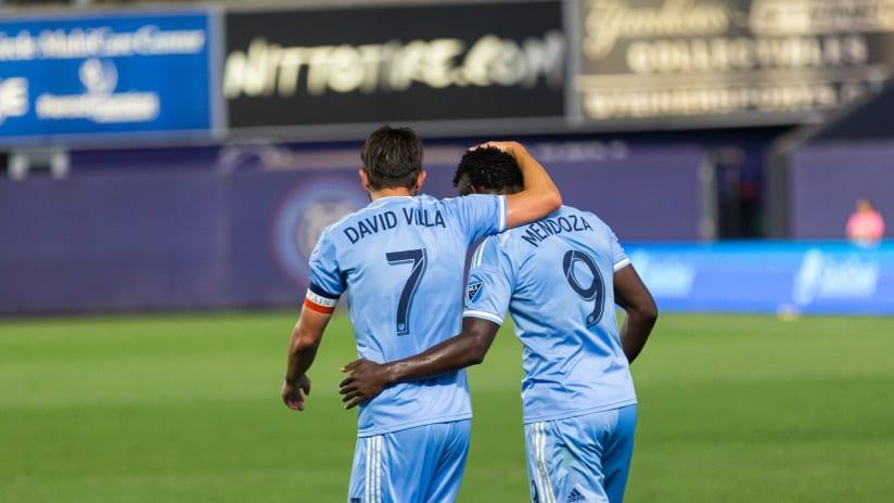 Villa and Mendoza Goal Chicago Fire 9/23/16