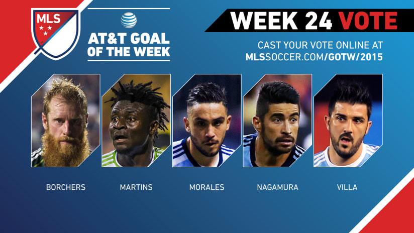 MLS Goal of the Week (Week 24)