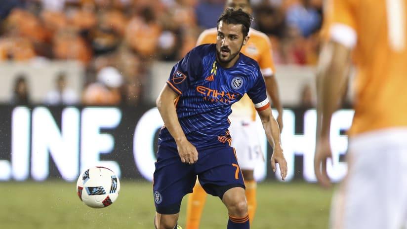 David Villa vs Houston Dynamo - 9/30 IMAGE 2