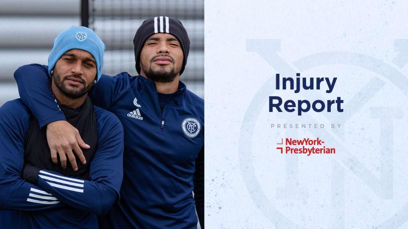 Injury Report vs TOR