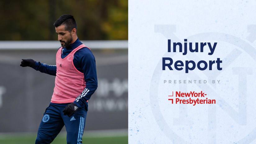 Injury Report 101320