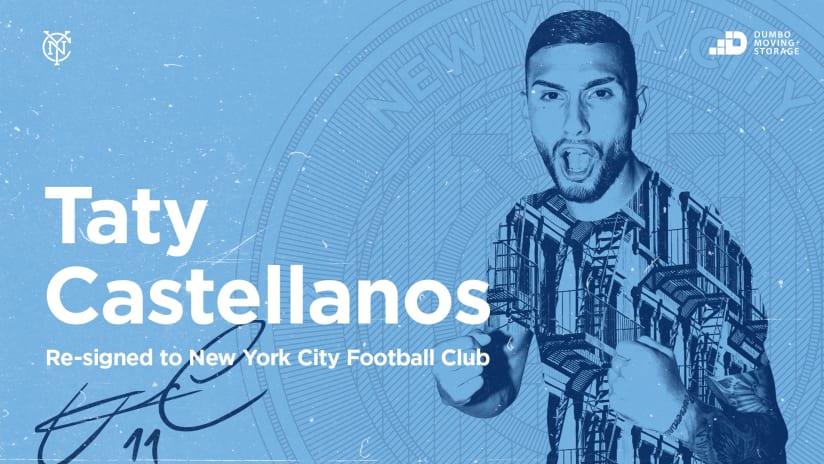 New York City FC Forward Valentin Castellanos Signs New Contract
