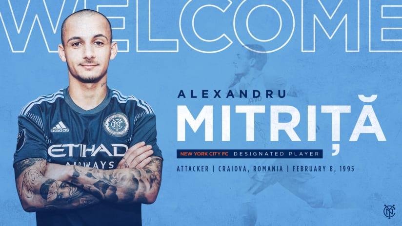 Alexandru Mitrita Signing