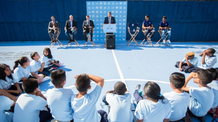 Mini-Pitch Unveiling at PS 49