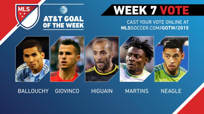 MLS Goal of the Week (Week 7)