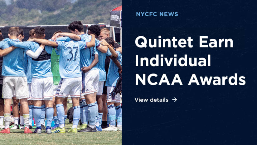Quintet Earn Individual NCAA Awards