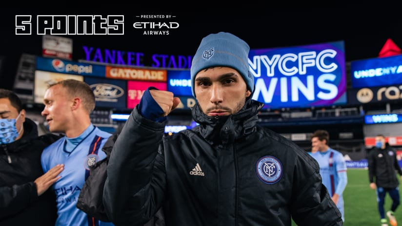 Five Points NYCFC red Bulls