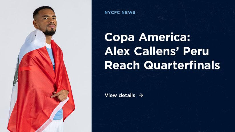 Copa America Callens