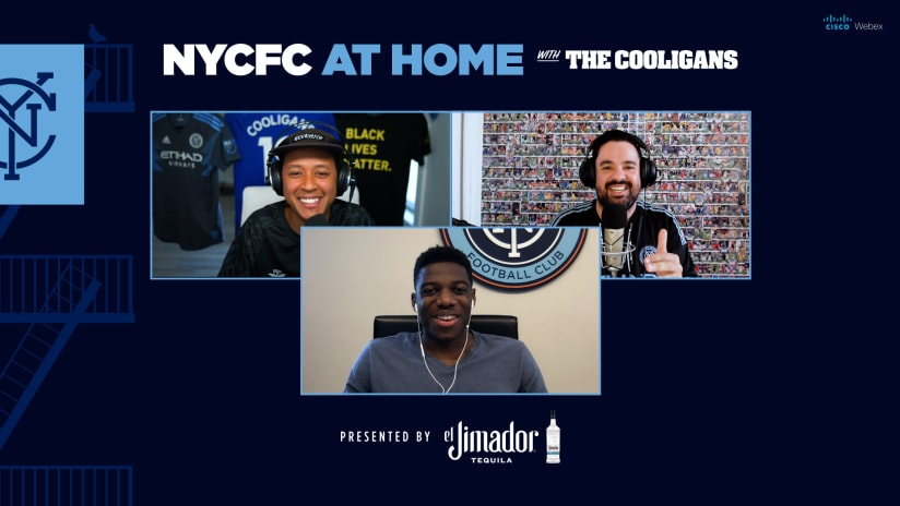 At Home with the Cooligans and Sean Johnson