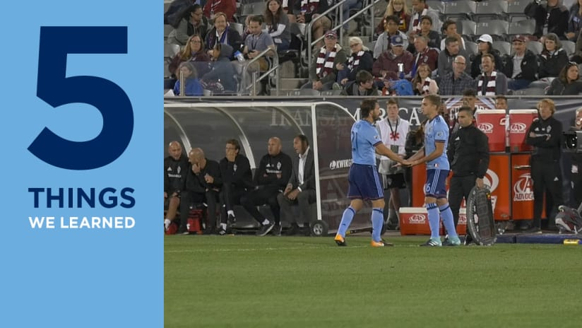Sands debut NYCFC