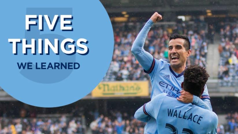 Five Things Maxi Celebration