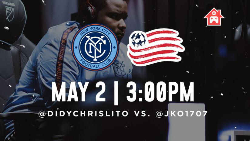eSports Re-Watch | NYCFC 3-2 New England Revolution
