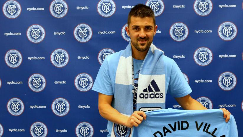 David Villa Signs for New York City FC