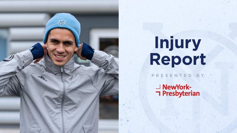 NYC vs RB Injury Report