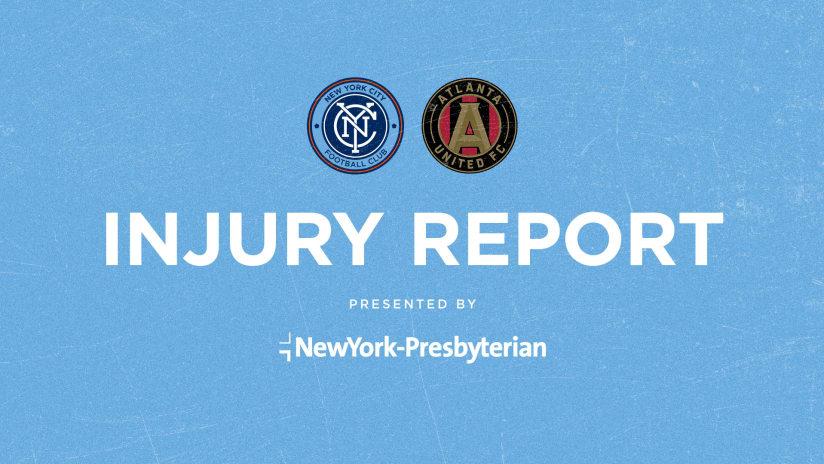 Injury Report vs ATL