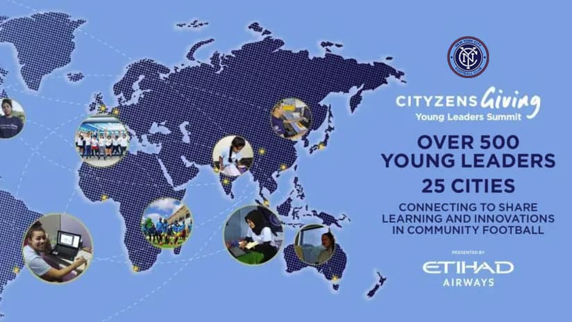 City Football Group Brings Together Record Number of Young Leaders at Annual Global Young Leaders Summit